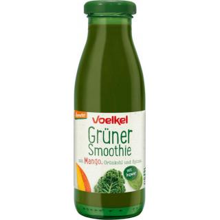 Voelkel Grüner Smoothie Mango Grünkohl Spinat 0,25l Flasche