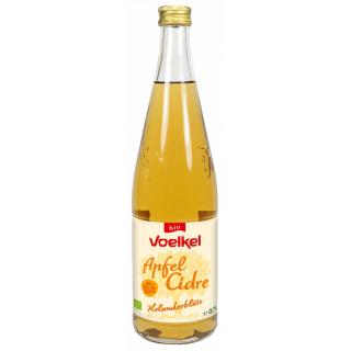 Voelkel Apfel Cidre Holunderblüte 0,7l Flasche -pfandfrei-