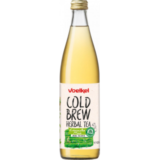 Voelkel Cold Brew Herbal Tea Citronella Mint 0,5l Flasche