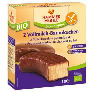 Hammer Mühle Vollmilch Baumkuchenringe 2 Stück 100g Packung