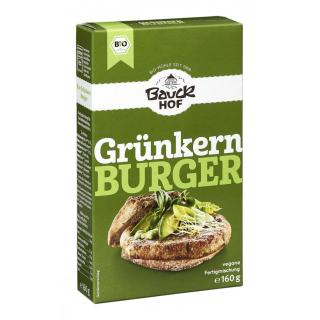 Bauck Grünkern Burger 160g Packung