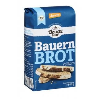 Bauck Bauern-Brot Vollkorn 500g Packung