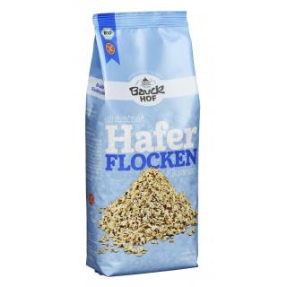 Bauck Haferflocken 475g Packung -glutenfrei-