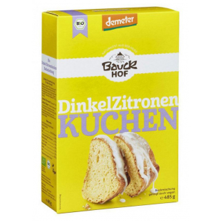 Bauckhof Dinkel Zitronenkuchen 485g Packung