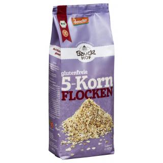 Bauck 5-Korn-Flocken demeter 475g Packung