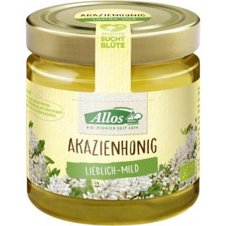 Allos Akazienhonig Ungarn 500g Glas