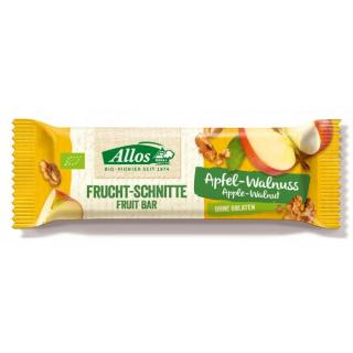 Allos Fruchtschnitte Apfel Walnuss 30g Stück