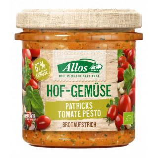 Allos Hofgemüse Patrick`s Tomate Pesto 135g Glas