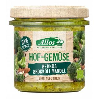 Allos Hofgemüse Bernd´s Brokkoli Mandel 135g Glas