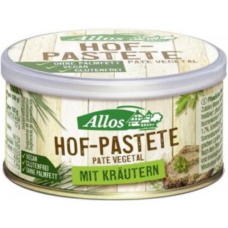 Allos Hof Pastete Kräuter 125g Dose