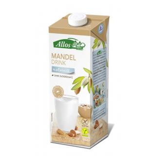 Allos Mandel Drink naturell ungesüßt 1l Tetra