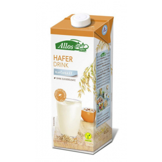 Allos Hafer Drink naturell 1l Tetra  Pack