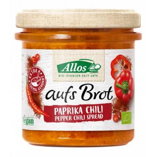 Allos Auf´s Brot Paprika Chili 140g Glas