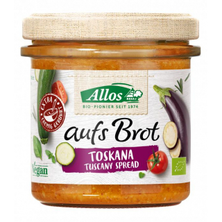 Allos Auf´s Brot Toskana 140g Glas