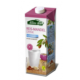 Allos Reis Mandel Drink 1l Packung