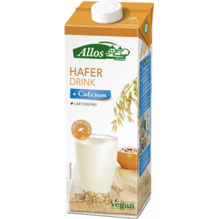 Allos Hafer Calcium Drink 1l Packung
