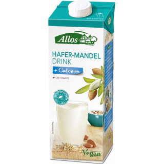 Allos Hafer Mandel Drink 1l Packung