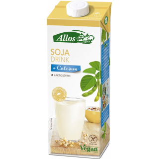 Allos Soja Calcium Drink 1l Packung