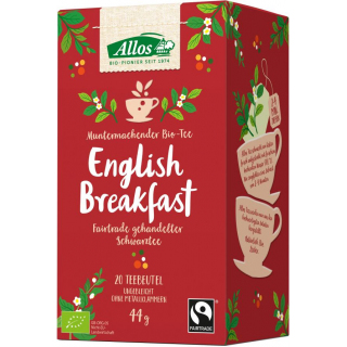 Allos English Breakfast Tee 2,2g 20 Btl Packung