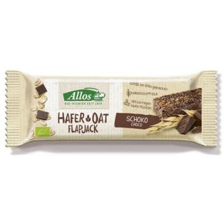 Allos Hafer Flapjack Schokolade 50g Stück