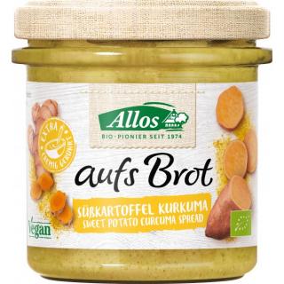 Allos Aufs Brot Süßkartoffel Kurkuma 140g Glas
