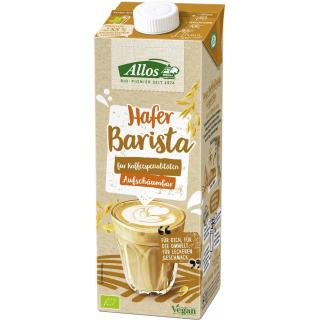 Allos Hafer Barista Drink 1l Packung