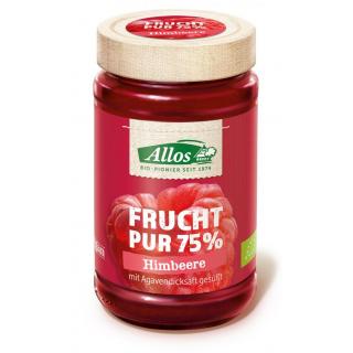 Allos Frucht pur Himbeere 250g Glas -75% Fruchtanteil-