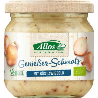 Allos Genießer-Schmalz 150g Glas