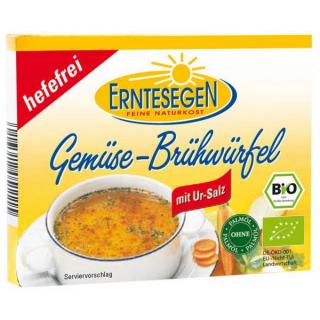 Erntesegen Gemüse Brühwürfel hefefrei 66g Pack