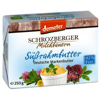 Schrozb Süßrahmbutter 250g Stück