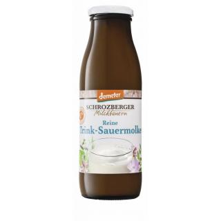Schrozb Reine Trink-Sauer Molke 0,5l Flasche