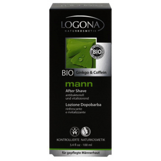 Logona mann Aftershave Lotion 100ml Flasche
