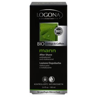 Logona mann Aftershave Lotion 100ml Flasche