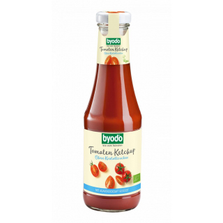 byodo Tomaten Ketchup ohne Kristallzucker 500ml Flasche