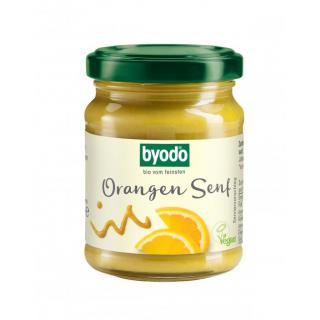 Byodo Orangen Senf 125g Glas