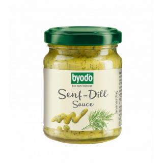 byodo Senf Dill Sauce 125ml Glas