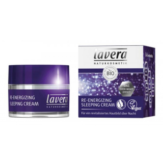 lavera Re-Energizing Sleeping Cream 50ml Tiegel
