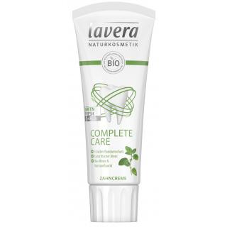 lavera Zahncreme Complete Care mit Fluorid 75ml Tube