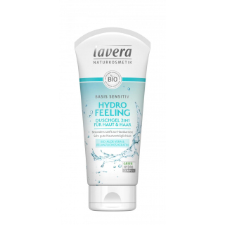 lavera Duschgel 2in1 Hydro Feeling basis sensitiv 200ml Tube