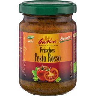 Gustoni Pesto Rosso 140g Glas