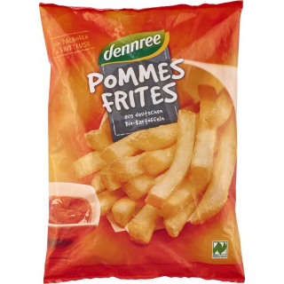 dennree Pommes Frites 600g Beutel
