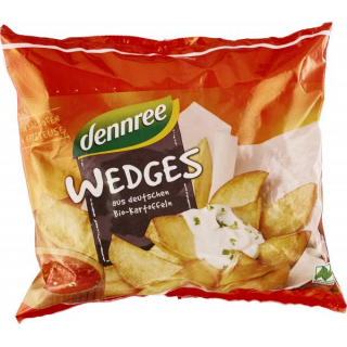 dennree Potato Wedges 450g Beutel