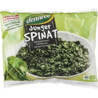 dennree Junger Spinat portioniert 450g Beutel
