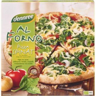 dennree Al Forno Pizza Spinat 350g Schachtel