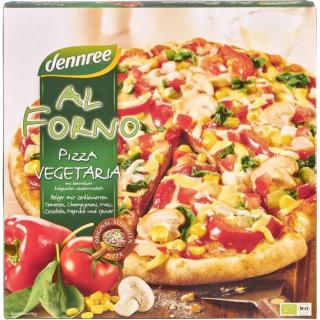dennree Al Forno Pizza Vegetaria 350g Schachtel