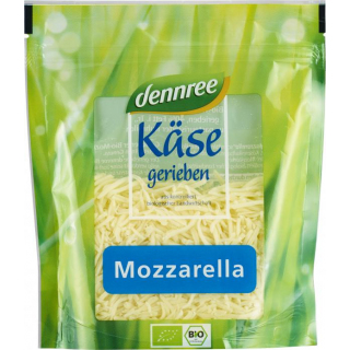 dennree Mozzarella gerieben 150g Beutel