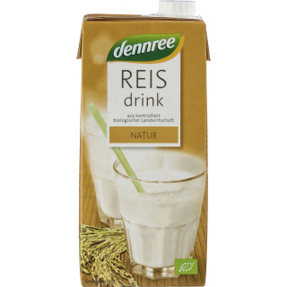 dennree Reisdrink natur 1l Packung