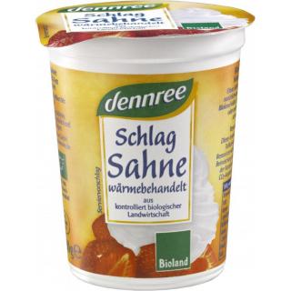 dennree Schlagsahne 200g Kreidebecher 32% Fett