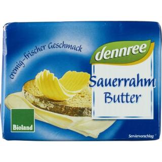 Dennree Sauerrahmbutter 250g Stück (16er)