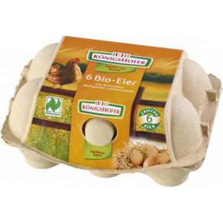 Königsh Bayern Eier gepackt 6 St Gkl M und L